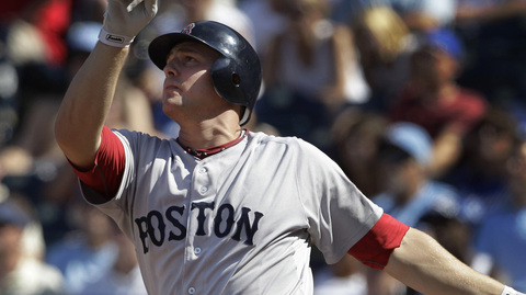 Ryan Lavarnway smacked 34 homers between the Minors and Majors last season.