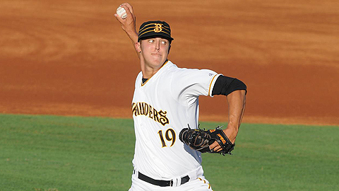 Jameson Taillon has 36 strikeouts in 36 2/3 innings for Bradenton.