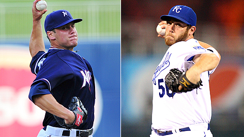 Chris Dwyer and Greg Holland took the Northwest Arkansas no-no through 7 2/3 innings.