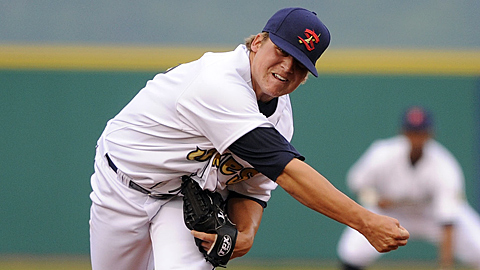 Stetson Allie has a 7.76 ERA in 17 Minor League pitching appearances.